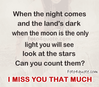 I miss you quotes – Missing you that much